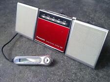 Panasonic SJ-MJ55 Minidisc Player Speakers Remote