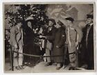 WWI Wounded Australians Christmas Gifts at ANZAC Club Original News Photo