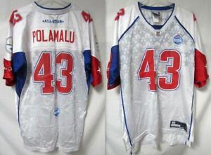 Pittsburgh Steelers Troy Polamalu #43 Mens Size L Pro Bowl 2007 Jersey C1 1951