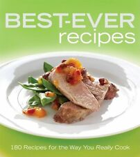 ACP Wiley BEST-EVER RECIPES 180 Recipes & Colour Photos NEW P/BACK BOOK in Aust7