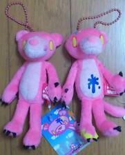 Chax GP Gloomy Naughty Bear meet The Pink Panther Plush mascot keychain set of 2