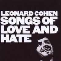 "LEONARD COHEN ""SONGS OF LOVE AND HATE"" CD NEW!"