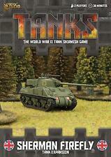 Tanks - British Sherman Firefly Tank Expansion Miniature Game [ITALIANO] TANKS