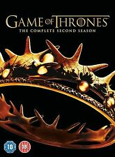 GAME OF THRONES Complete HBO TV Series 2 DVD Box Set Collection + Extras New