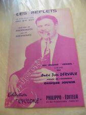Partition Les Reflets Dervaux Saxo Alto Solo For a sentimental girl 1964