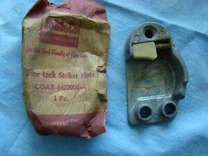 1959-1962 Ford Mercury Edsel Door STRIKER Plate RH Passenger Jamb NOS