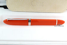 Omas 360 Hi-Tech Mezzo Orange Rollerball Pen - Extremely Rare!!