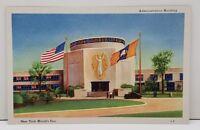 World's Fair New York 1940 Administration Building Postcard B1