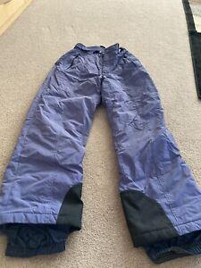 Blue snow pants by Columbia women's size medium