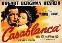 Casablanca Film Motiv 1 Blechschild Schild gewölbt Tin Sign 20 x 30 cm FA0484