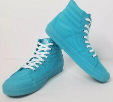 196021fa570 Vans Off The Wall SK8-HI Skate Shoes Teal Aqua Green Unisex Men 6.5 /