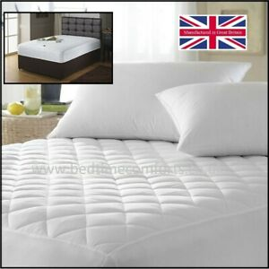 """Extra Long Small Double 4' x 6' 6""""  MATTRESS PROTECTOR (Various depths)"""