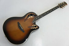 Ovation 1868 Elite Acoustic Electric Guitar Made in USA Free Ship 986v25