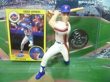 1991 GREGG JEFFERIES - Starting Lineup- SLU - Loose with Card & Coin - N.Y. Mets