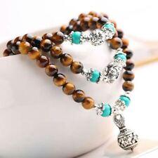 Tiger Eye Natural Energy Stone Bracelets/FREE P&P/UK STOCK