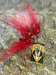 3 V Fly Ultimate Francis Octopus Shrimp Patriot Double Salmon Flies All Sizes