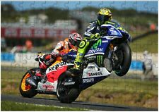 Valentino Rossi A4 JIGSAW Puzzle Birthday Christmas Gift (Can Be Personalised)