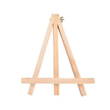 1pc New Mini Wooden Art Holder Artwork Display Novelty Easels Drawing Boards R3N