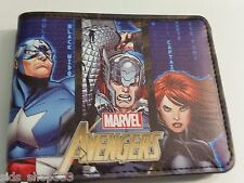 AVENGERS ASSEMBLE ! bi fold wallet deadpool Marvel Comics US Seller Stan lee