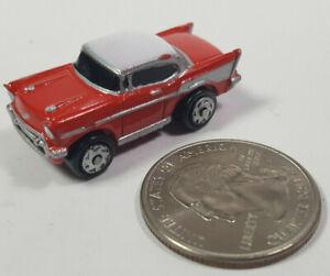 1957 Chevy Bel-Air Bel Air Hardtop Red Galoob Micro Machines LGTI Rare Vtg