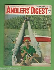 #BB5. ANGLER'S DIGEST, FEBRUARY 1966