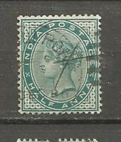 India Postage  Great Britain Queen Victoria  Old Stamps