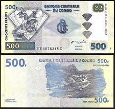 CONGO DEMOCRATIC REPUBLIC  500 Francs 2002 UNC P 96 b
