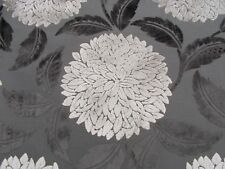 Sanderson Curtain/upholstery Fabric CERES Velvet 2.8 Metres 280cm Charcoal/clay