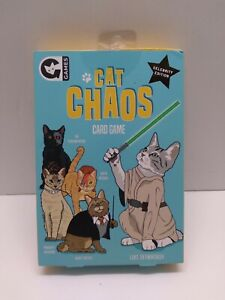 Cat Chaos Card Game Celebrity Edition - Ginger Fox UK Games New