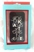 Kate Spade New York Boys Make Passes at Girls Glasses Silicone iPhone 5 case-NIB