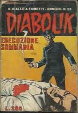 DIABOLIK anno XII n° 23 (Astorina, 1973)