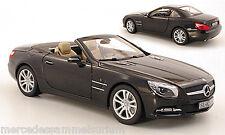 MERCEDES Benz r 231-sl 500 roadster 2012 Magnetite Noir 1:18 nouveau OVP