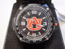 Auburn University Tigers Mens Warrior Watch Gunmetal COL-WAR-AUB W Extra Battery