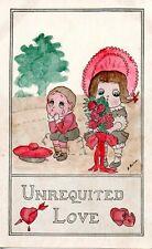 UNREQUITED LOVE c1910 COMIC POSTCARD