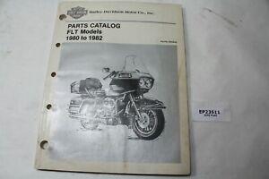 1980 to 1982 FLT Harley parts catalog 99438-82 Shovelhead book manual EPS23511