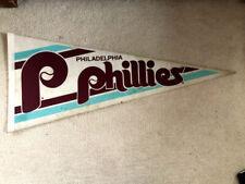 Philadelphia Phillies Vintage 1980s Baseball Pennant