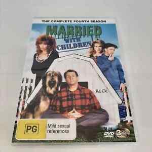 Married With Children : Season 4 (DVD, 3-Disc Set) NEW Region 4