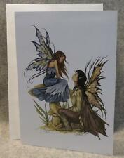 AMY BROWN Fairy ALWAYS Note Greeting Card Faery Fantasy Mythical