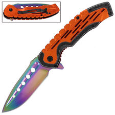 CSGO Spring Assisted Real Fade Pocket Folding Outdoor Online Game Knife