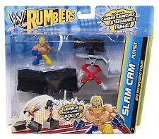 WWE RUMBLERS SLAM CAM PLAYSET W/ REY MYSTERIO FIGURE *NU*