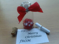Message In A Bottle Merry Christmas Scroll