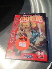 ** NEW SEALED ** ORIGINAL NIB Eternal Champions (Sega Genesis, 1993) RARE game