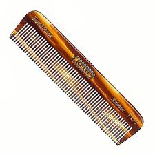 MEN'S 112MM ALL FINE POCKET COMB KENT BRUSHES HANDMADE HAND FINISH HAIR & BEARD