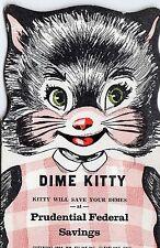 1954 DIME KITTY - DIME BANK BOOK - PRUDENTIAL FED SAVINGS - SALT LAKE CITY UT