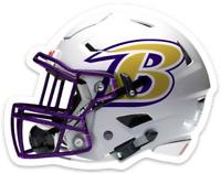 Baltimore Ravens Helmet with Logo MAGNET:  Ravens NFL Awesome Football MAGNET