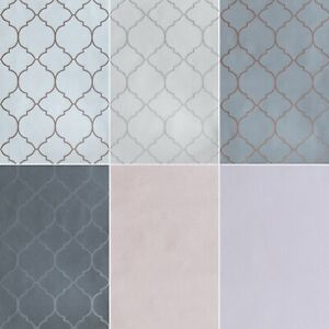 Exclusive Crystal Trellis Geometric Design Glitter Sparkle Metallic Wallpaper