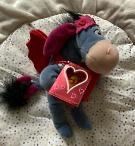 Rare 2002 Valentine's Special Edition Cupid Eeyore Disney Store BNWT