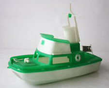 RARE VINTAGE 70'S PLASTIC SHIP BOAT GREEK COAST GUARD MADE IN GREECE 28cm NEW !