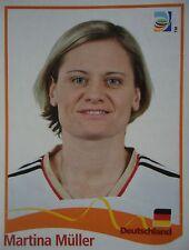 PANINI Martina Müller Germania FIFA donne WM 2011 GERMANY