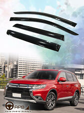For Mitsubishi Outlander 13-19 Deflector Window Visors Guard Vent Weather Shield